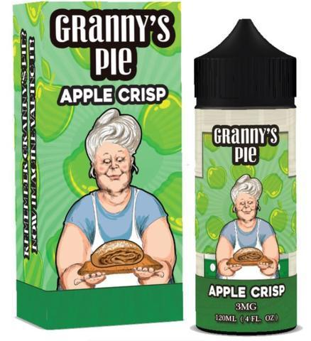 Granny's Pie Apple Crisp 120ml Vape Juice-Blazed Vapes