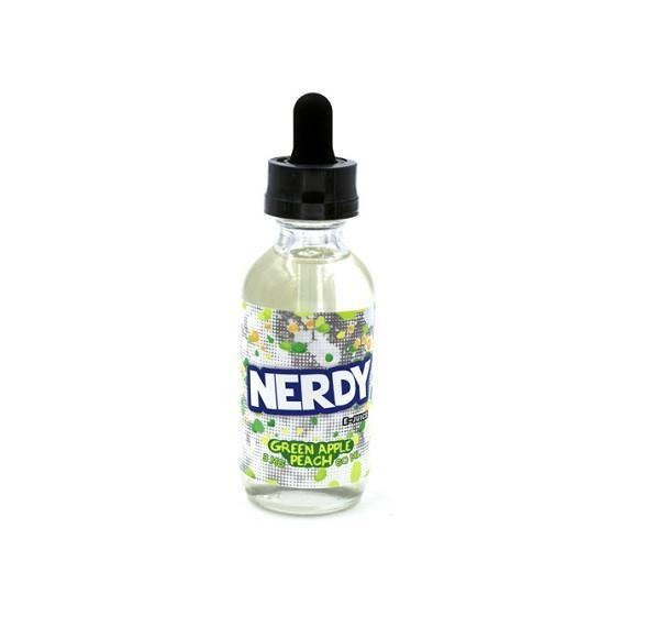 Green Apple Peach by Nerdy Vape Juice (60ML)-Blazed Vapes
