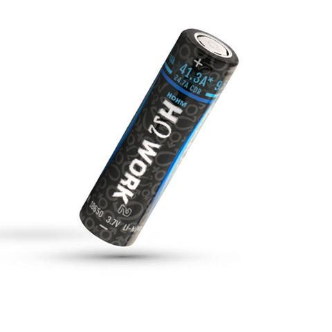 HohmTech Work 18650 2576mAh 24.7A Battery-Blazed Vapes