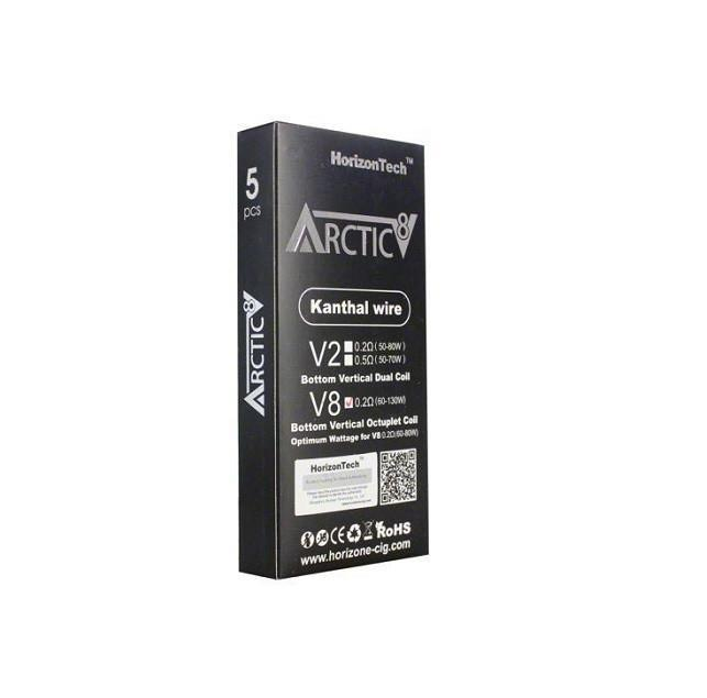 Horizon Arctic V8 Kanthal Octuplet Coils (Pack of 5)-Blazed Vapes