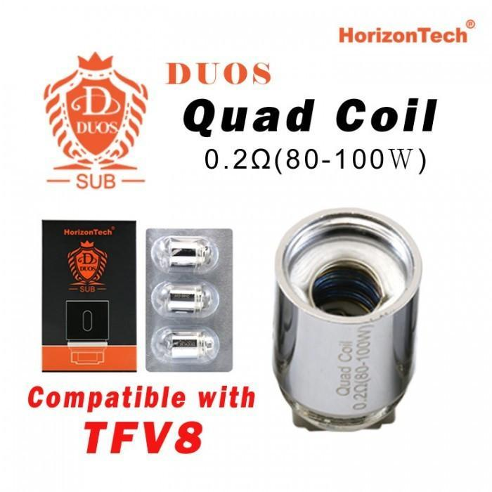 HorizonTech Duos Coil (Pack of 3)-Blazed Vapes