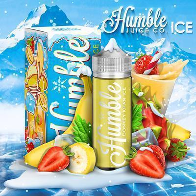 Humble Juice Co Vape Juice Donkey Kahn ICE 120ml-Blazed Vapes