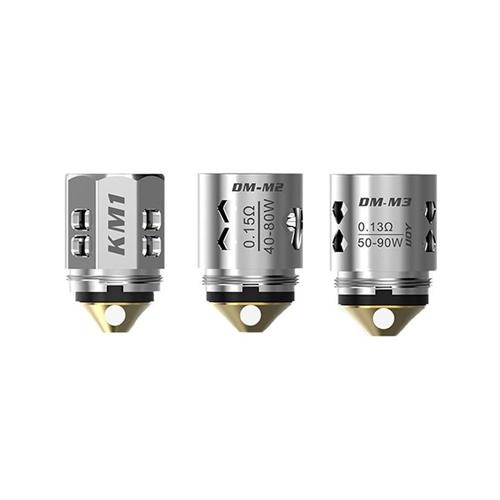 iJoy DM Replacement Coils | For The Katana, Captain, and Avenger Tanks (Pack of 3)-Blazed Vapes