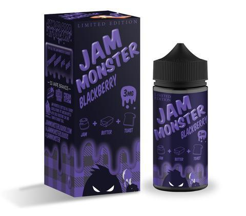 Jam Monster BLACKBERRY Vape Juice 100ml-Blazed Vapes