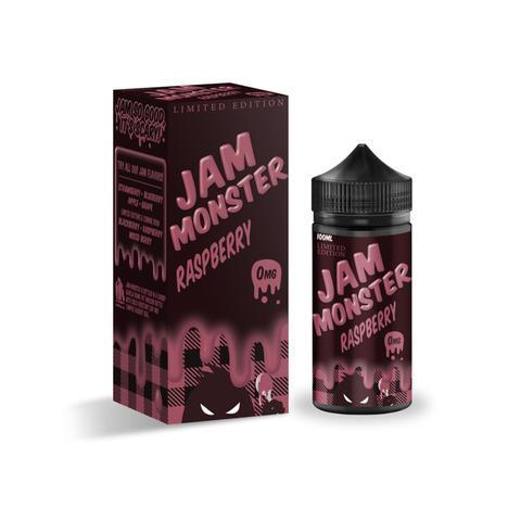 Jam Monster Limited Edition Raspberry 100ml Vape Juice-Blazed Vapes