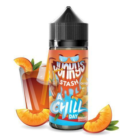 Junkys Stash Vape Juice A Chill Day 100ml-Blazed Vapes