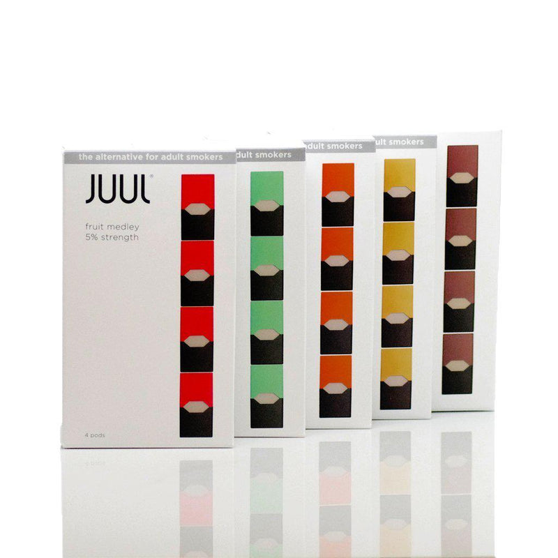JUUL eLiquid Replacement PODs (Pack of 4)-Blazed Vapes