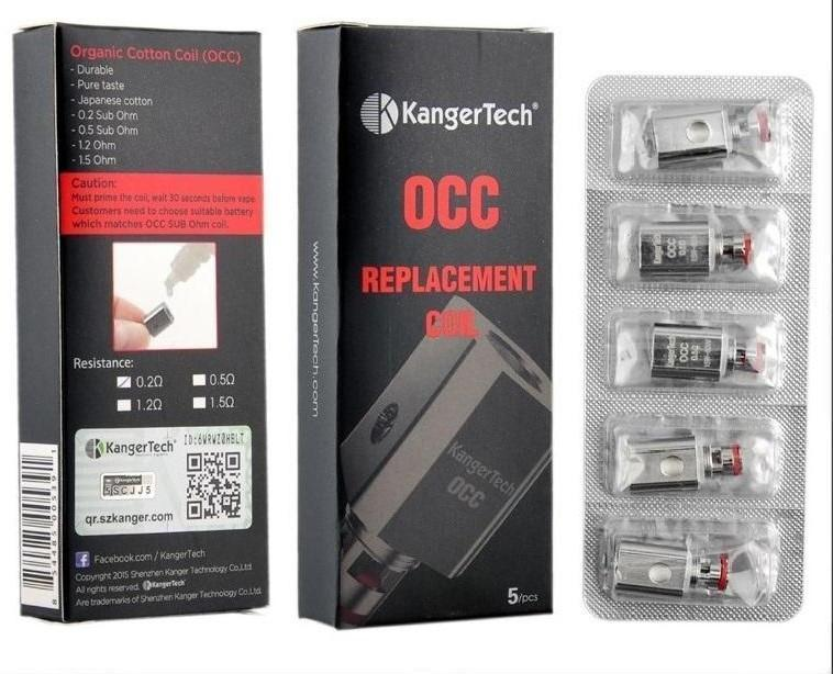 Kangertech OCC Replacement Coil (Pack of 5)-Blazed Vapes