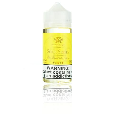 Kilo Sour Series (Bazooka Sour Straws) Blue Raspberry Sours 100ml Vape Juice-Blazed Vapes