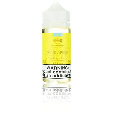 Kilo Sour Series (Bazooka Sour Straws) Strawberry Sours ICE 100ml Vape Juice-Blazed Vapes