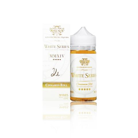 Kilo White Series Cinnamon Roll 100ml Vape Juice-Blazed Vapes