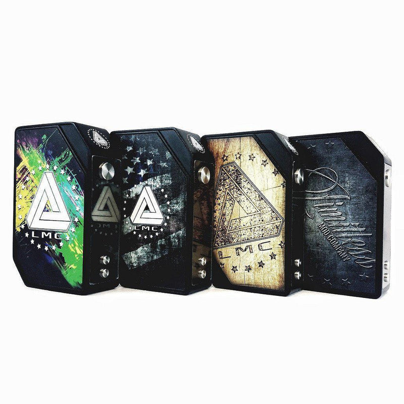 LMC Limitless Box Mod with Interchangeable Plates-Blazed Vapes