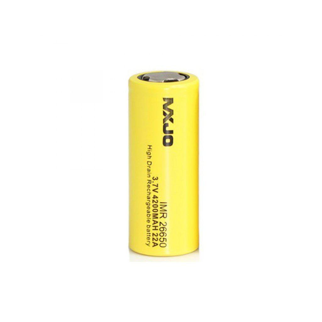 MXJO IMR 26650 4200MAH 22A 3.7V Flat Top Battery-Blazed Vapes