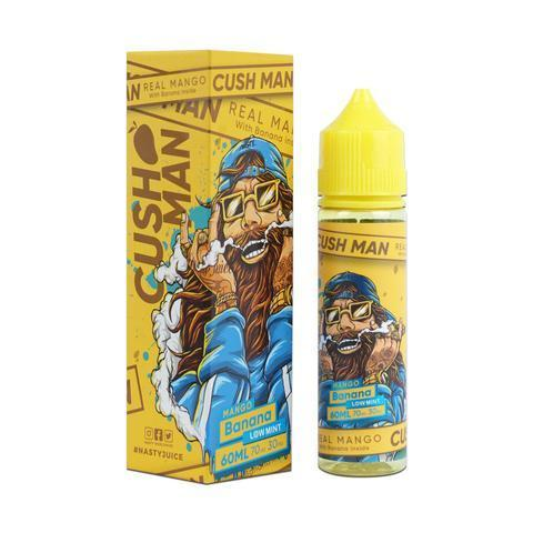 Nasty Vape Juice Cush Man Series Mango Banana 60ml-Blazed Vapes