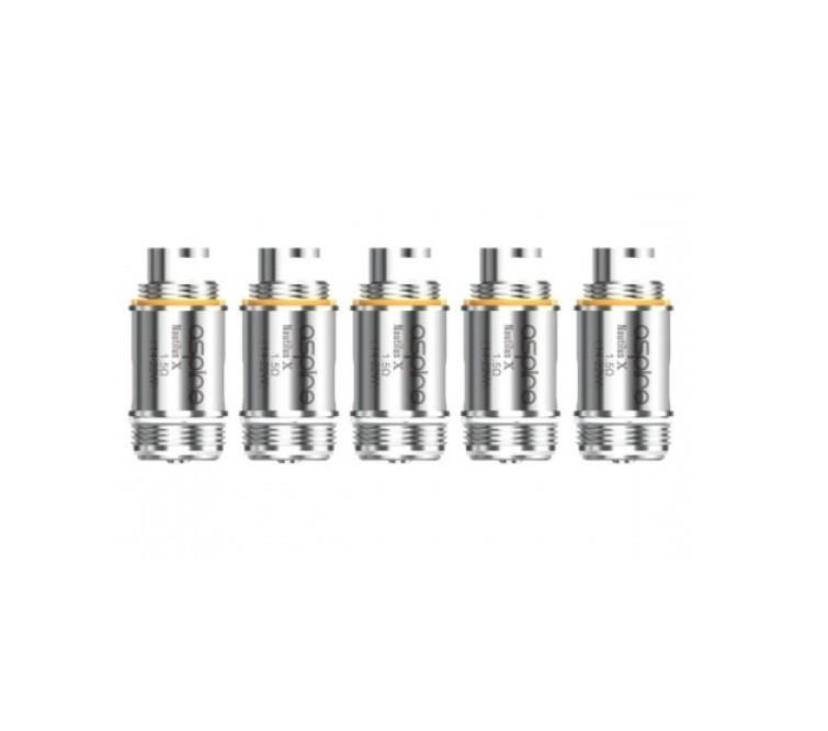 Nautilus X Coils by Aspire (Pack of 5)-Blazed Vapes