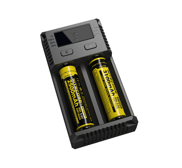 New i2 Intellicharger by Nitecore-Blazed Vapes