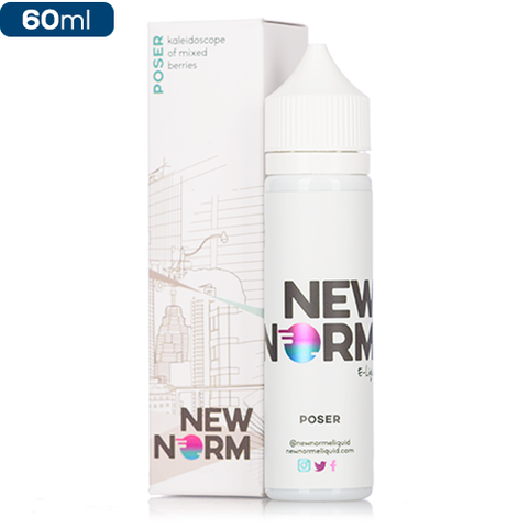 New Norm Vape Juice Poser 60ml-Blazed Vapes
