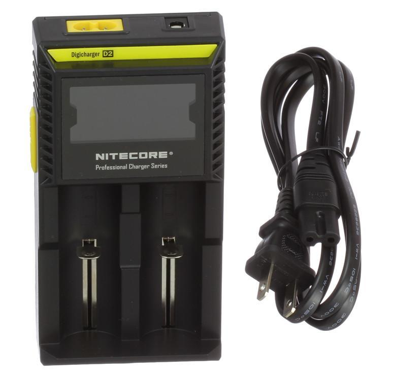 Nitecore Charger D2 Lcd Digicharger-Blazed Vapes