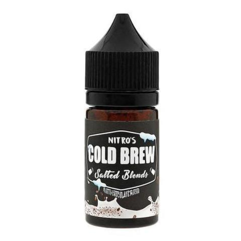 Nitro's Cold Brew White Chocolate Mocha 30ml Nic Salt Vape Juice-Blazed Vapes