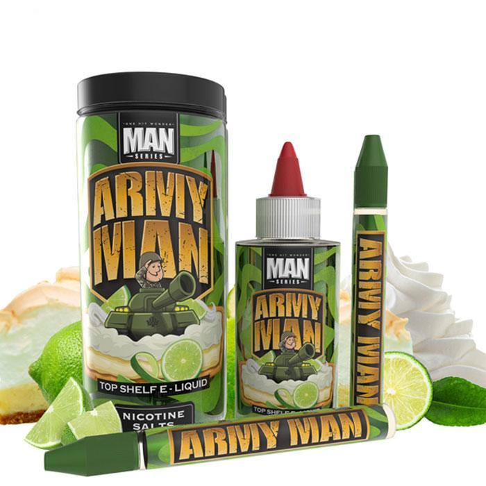 One Hit Wonder Army Man 100ml Vape Juice-Blazed Vapes