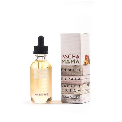 Pachamama Vape Juice Peach Papaya and Coconut Cream 60ml-Blazed Vapes