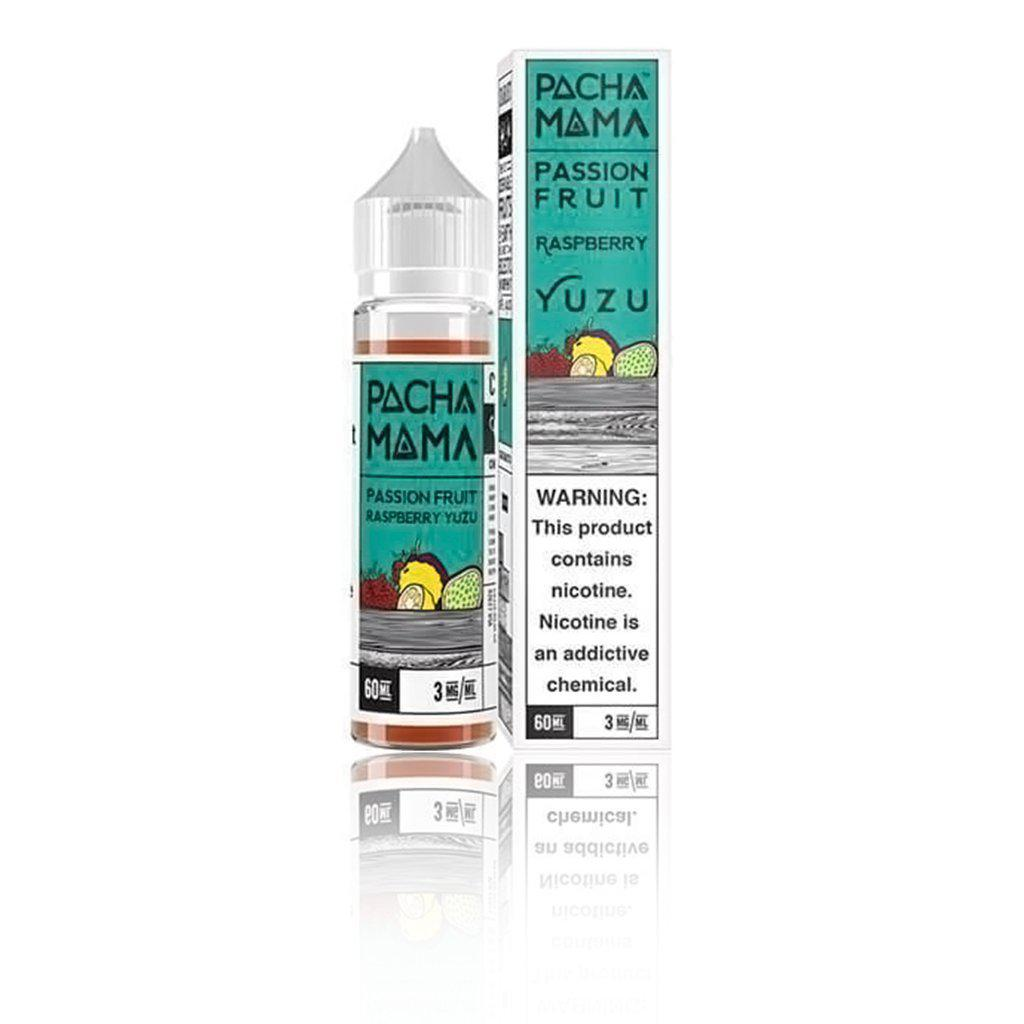 Pachamama Passion Fruit Raspberry Yuzu 60ml Vape Juice-Blazed Vapes