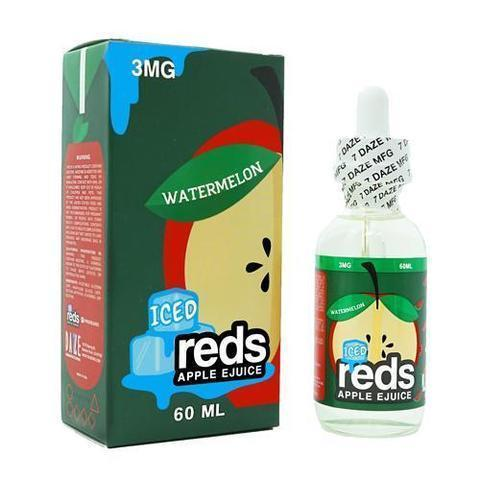Reds Apple EJuice - Watermelon ICED 60ml-Blazed Vapes