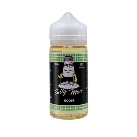 Salty Man Hoops 100ml Vape Juice-Blazed Vapes