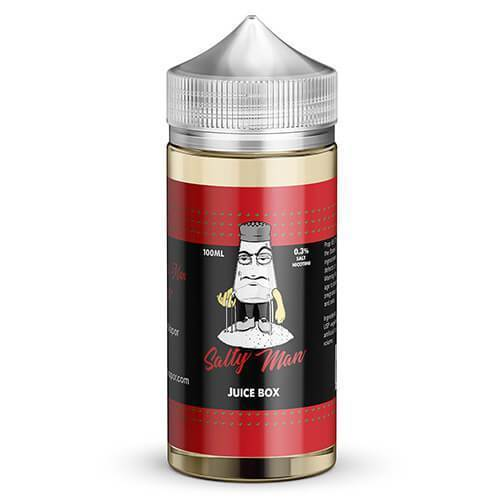 Salty Man Juice Box 100ml Vape Juice-Blazed Vapes