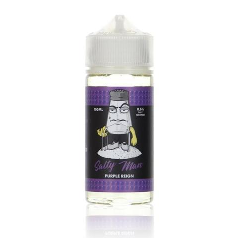 Salty Man Purple Reign 100ml Vape Juice-Blazed Vapes