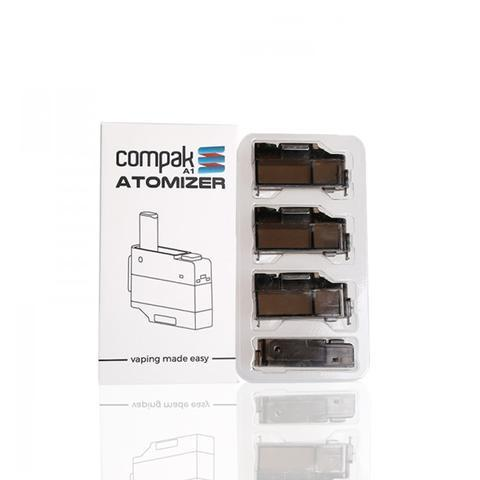 Sigelei Compak A1 Atomizer Cartridge 3pcs-Blazed Vapes