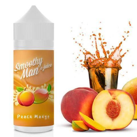 Smoothy Man Vape Juice Peach Mango 60ml-Blazed Vapes