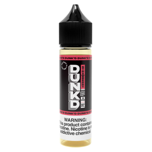 Dunkd Strawberry 60ml Vape Juice-Blazed Vapes