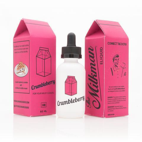 The Milkman Crumbleberry 60ml Vape Juice-Blazed Vapes
