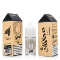The Milkman Gold 30ml Salt Vape Juice-Blazed Vapes