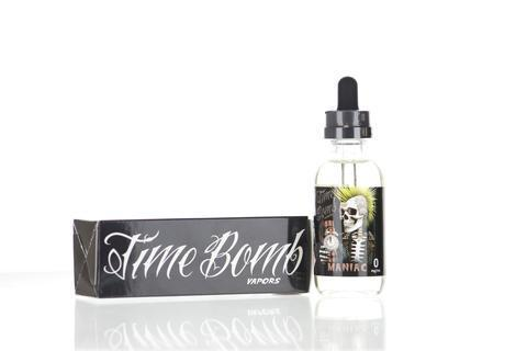 Time Bomb Vapors Maniac 120ml Vape Juice-Blazed Vapes