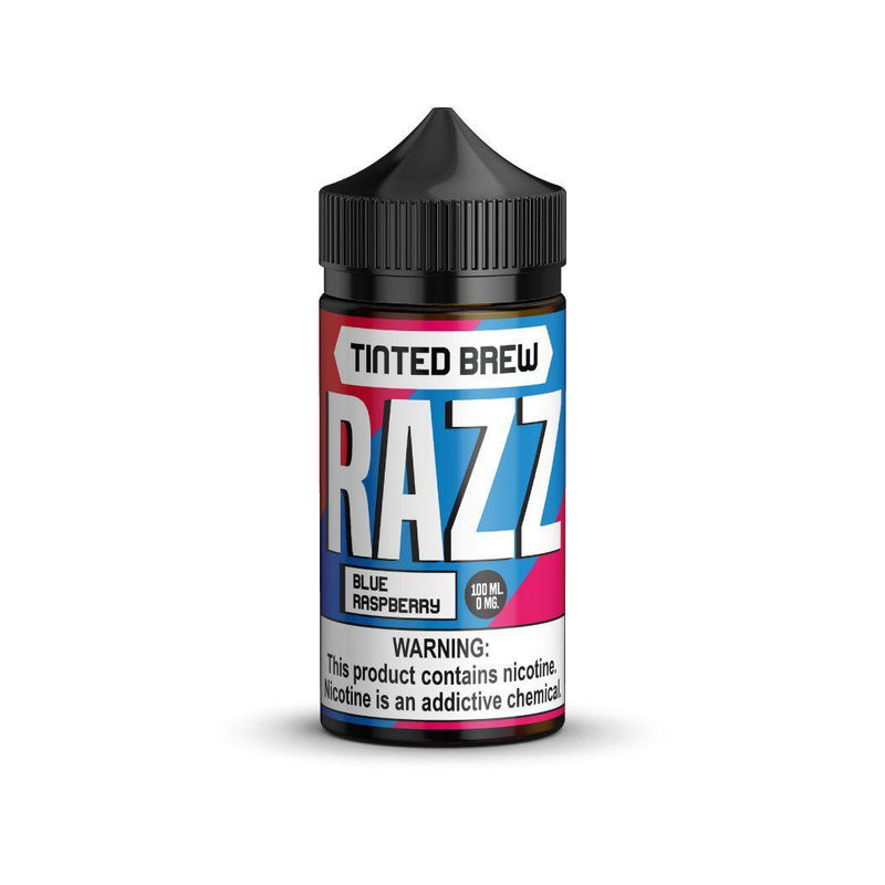 Tinted Brew Razz 100ml Vape Juice-Blazed Vapes