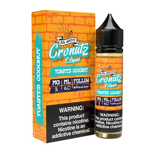 Cronutz Toasted Coconut 60ml Vape Juice-Blazed Vapes