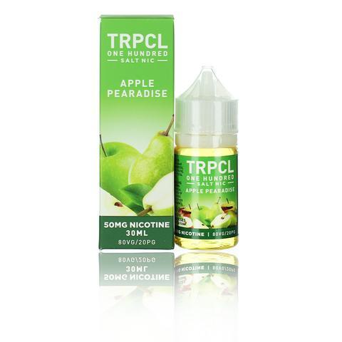 TRPCL ONE HUNDRED Salts Apple Pearadise 30ml Vape Juice-Blazed Vapes