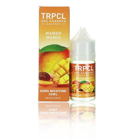 TRPCL ONE HUNDRED Salts Mango Mania 30ml Vape Juice-Blazed Vapes