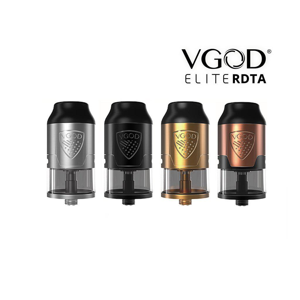 VGOD Elite RDTA - Rebuilable Drip Tank Atomizer-Blazed Vapes