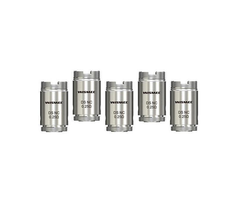 Wismec DS NC Replacement Coils (Pack of 5)-Blazed Vapes