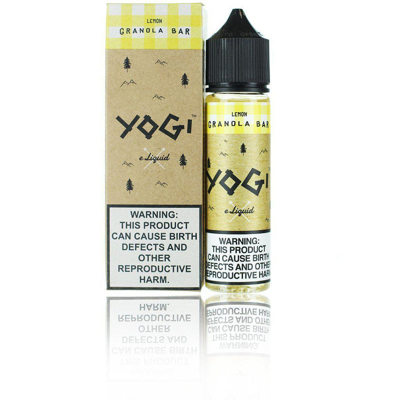 Yogi Lemon Granola Bar 60ml Vape Juice-Blazed Vapes