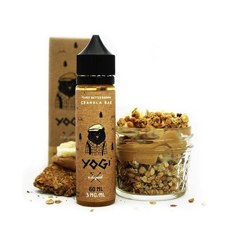 Yogi Vape Juices - Peanut Butter Banana Granola Bar (60ml)-Blazed Vapes