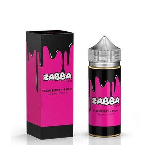 Zabba Vape Juice Strawberry 100ML-Blazed Vapes