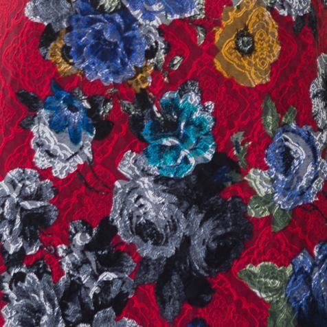 Floral Jacquard brocade swatch which will be featured in the new shift dress