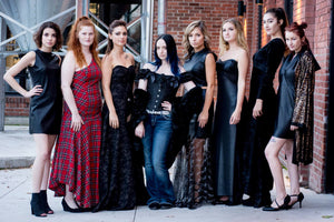 East Coast Couture was featured in the Transition fashion show in Fredericton, New Brunswick in October 2017