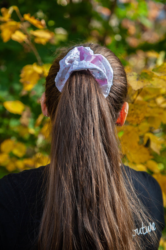 Kawaii Pink Scrunchie