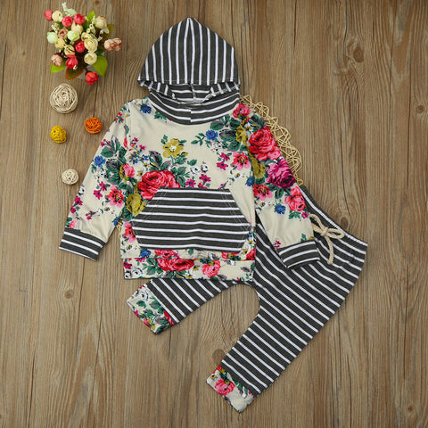 Aubrey Hooded Set