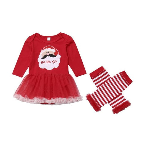 Ho Ho Ho Skirt Set